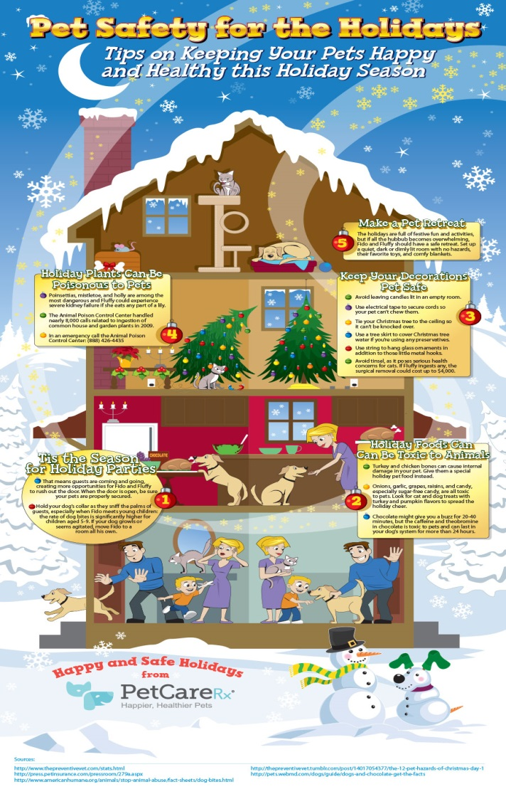 tips for dog safety this holiday season