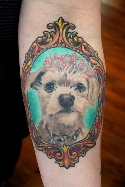 rover   blog dog tattoos that put the love of dogs on