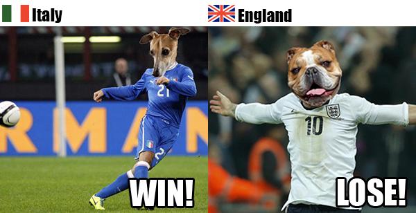 Rover.com's World Cup Predictions: Italy vs. England // Rover.com Blog