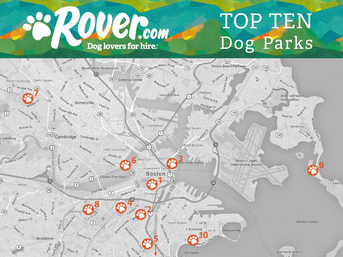Dog parks in Boston, Boston dog parks