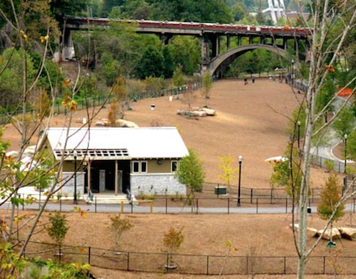 Piedmont Park's off-leash dog area // Rover.com Blog