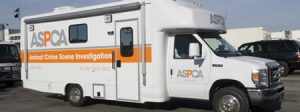 ASPCA Truck - stop animal cruelty