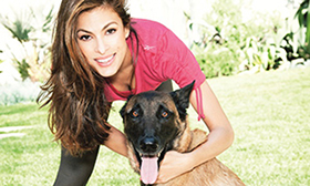 Eva Mendes, Celeb Dog Lover