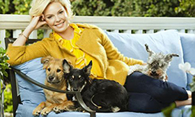 Katherine Heigel, Celeb Dog Lover