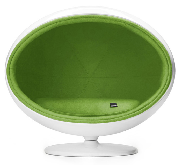 padpod dog bed, retro dog bed