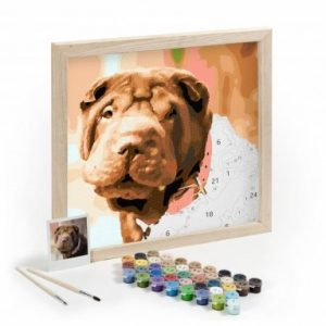 Paint by Numbers - best gifts for dog owners