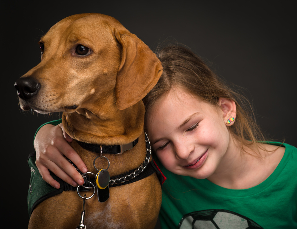 How Service Dogs Help Kids Learn To Read The Dog People
