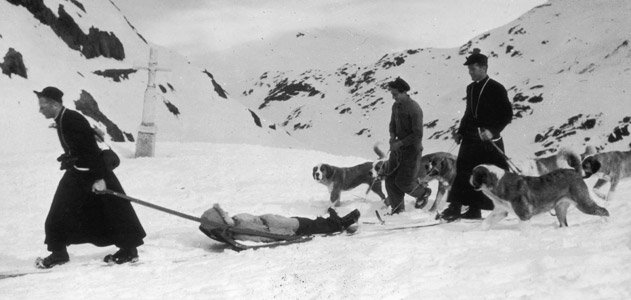 st bernard mountain rescue