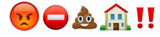 Dog emoji - poop strikes