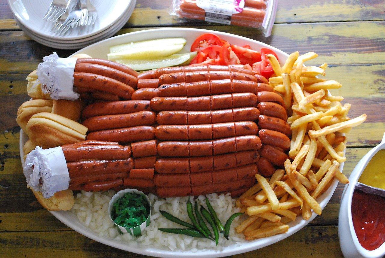 hot dog turkey