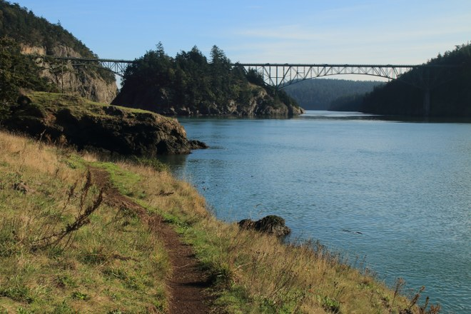Deception Pass - best hikes for dogs in Seattle
