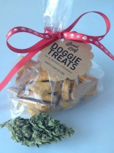 San Francisco marijuana dog treat