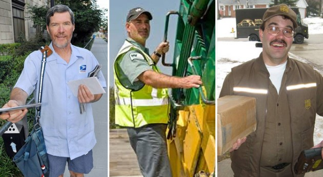 mail carrier ups driver garbage collector fmk