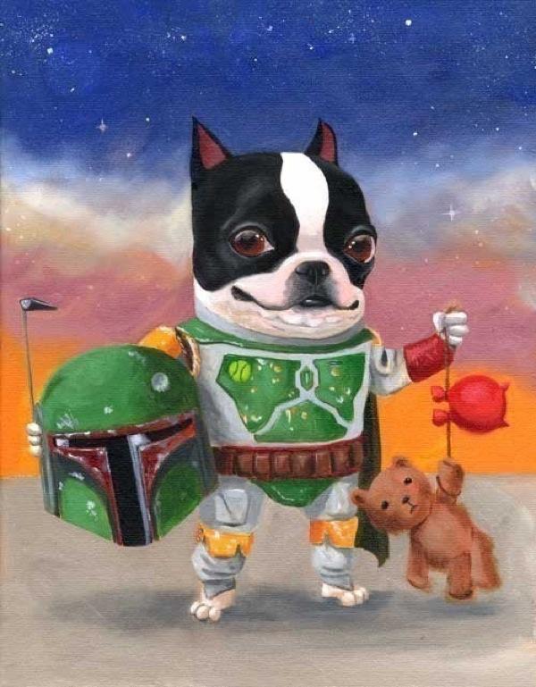star-war-dogs-boba-fett-boston-terrier-painting