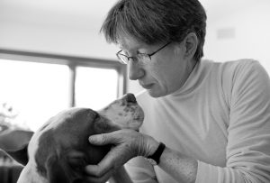 "<a href=""https://www.flickr.com/photos/sskennel/3226772827"" title=""The dog whisperer by Roger H. Goun, on Flickr""><img src=""https://c2.staticflickr.com/4/3482/3226772827_42fa499913_z.jpg?zz=1"" width=""640"" height=""434"" alt=""The dog whisperer""></a>"