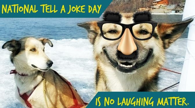 only joking whats so funny about making people laugh