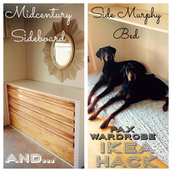 murphy bed ikea hack dog