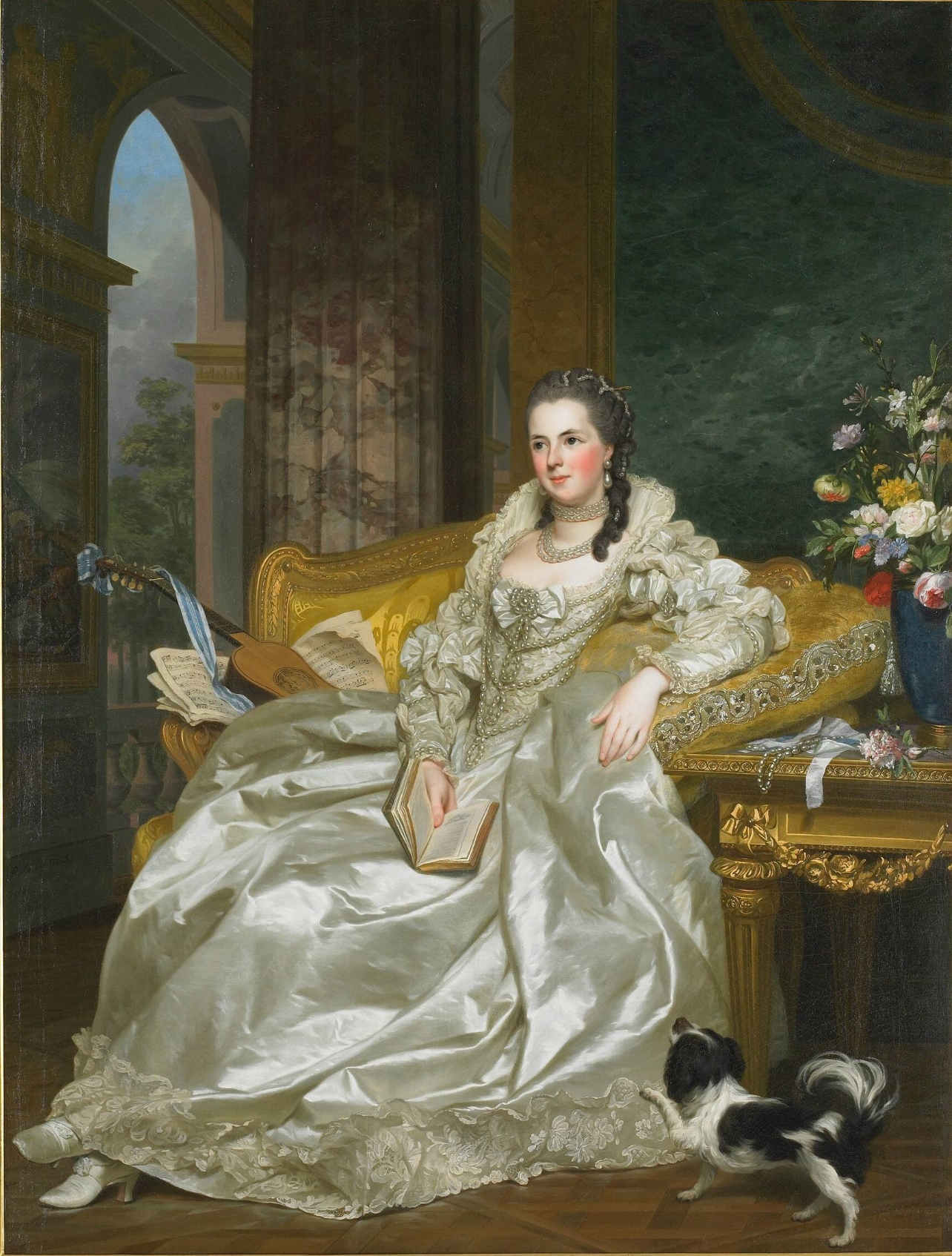 The Comtesse d'Egmont Pignatelli