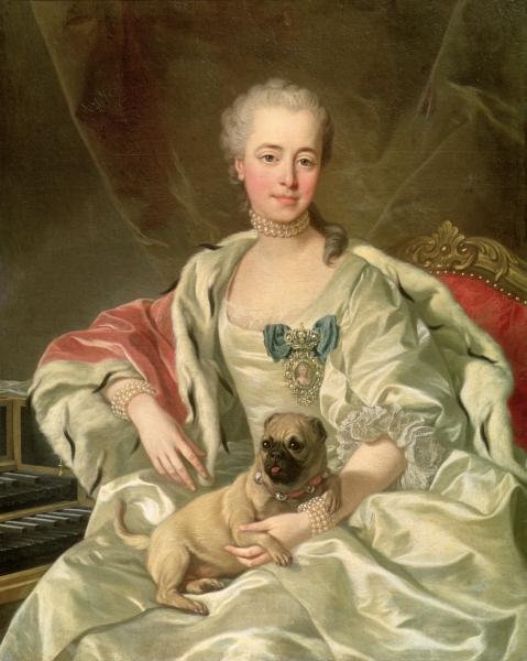 Michel van Loo, Princess Ekaterina Dmitrievna Golitsyna, 1769