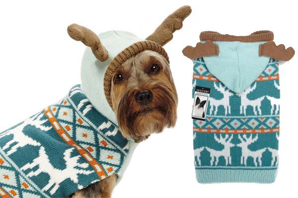 reindeer antler hoodie