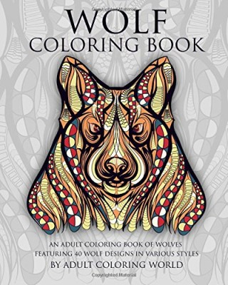 Wolf Coloring Book, $8.99