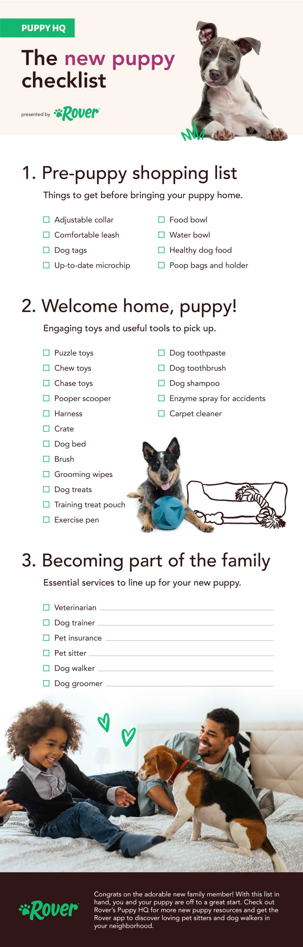The Essential New Puppy Checklist Everything You Need For A Puppy