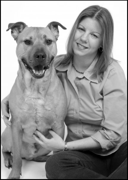 vet monica dijanic with dog