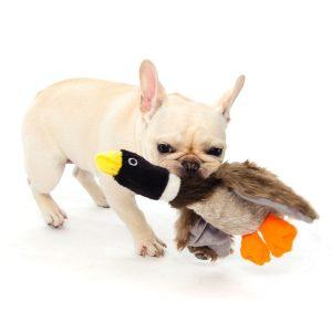 Dogloveit Mallard Duck Squeaky Plush Dog Toy