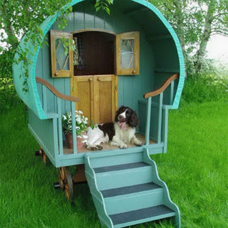 gypsy caravan dog house