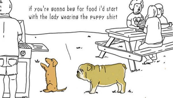 """They Can Talk"" Comics Perfectly Illustrate What Animals Are Thinking"