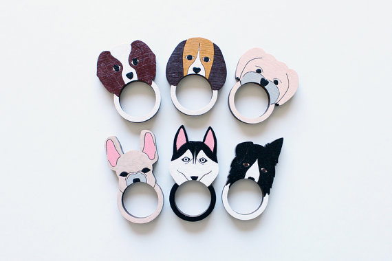 ring engraved personalized pin name stainless pet rings steel dog