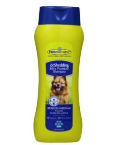 dog shedding shampoo