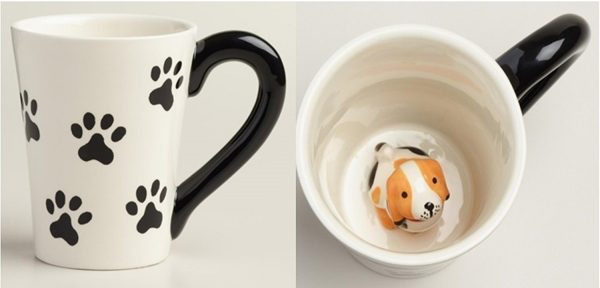 Surprise Dog Coffee Mug