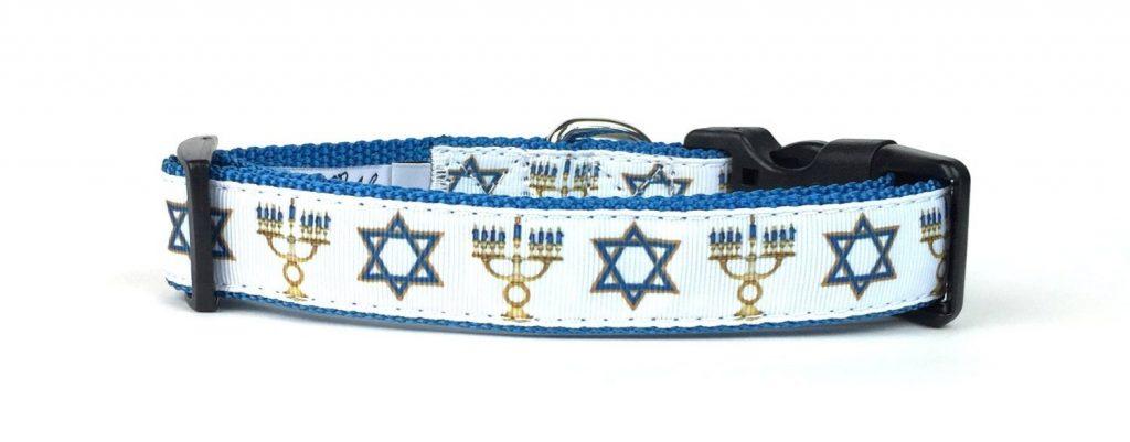 hanukkah-dog-collar