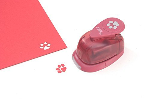 paw print paper punch stocking stuffer