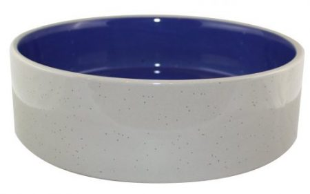 stoneware ceramic dog water bowl