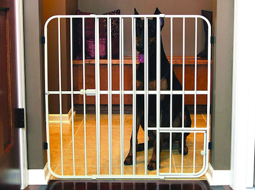 Carlson Extra Tall Metal Expandable Gate