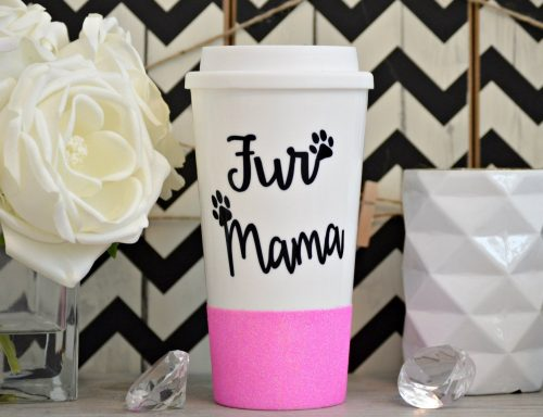 fur mama travel mug