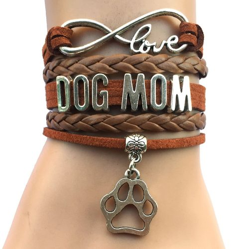 infinite love dog mom bracelet