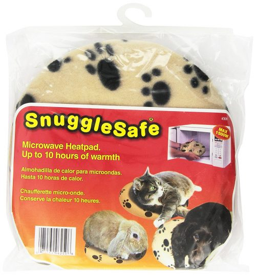 snugglesafe microwave heating pad for pets