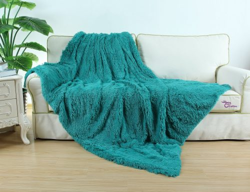 super soft plush faux fur throw