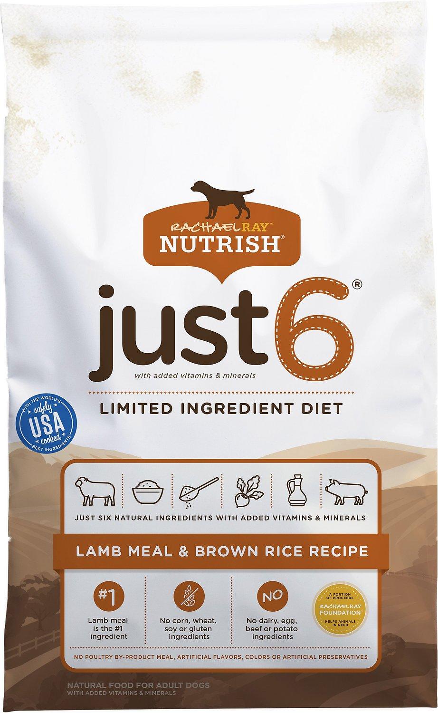 Just 6 dog food