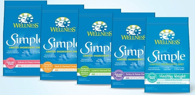 Wellness Simple LID hypoallergenic dog foods
