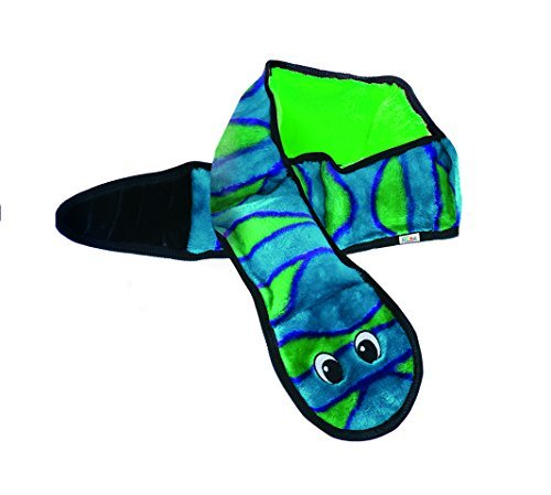 Outward Hound invincibles snake plush dog toy