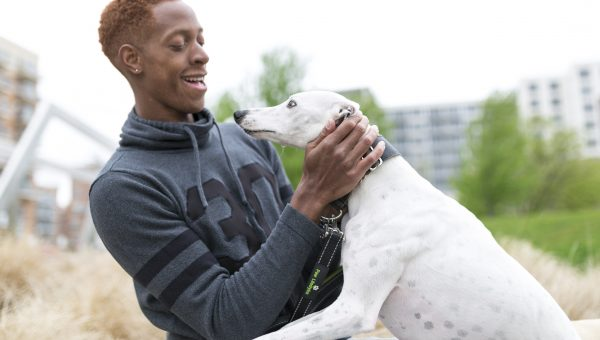 Meet the Dog People: Bradley C. in Chicago