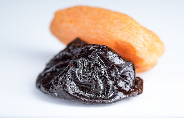 prune and apricot