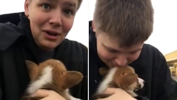 Watch Teen's Reaction When 'Errands' With Mom Turn Out to Be Surprise Puppy [Video]