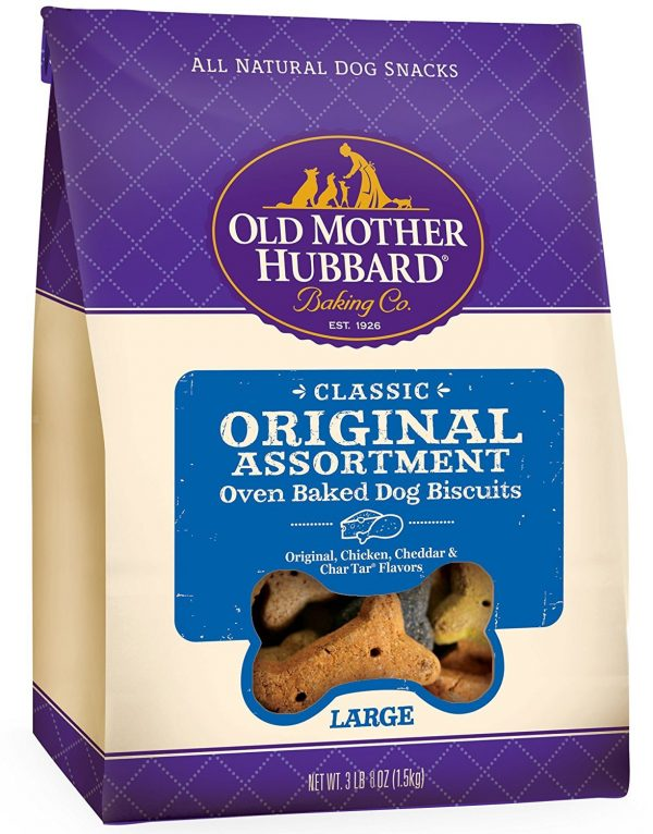 old mother hubbard original assortment oven baked dog buiscuits large