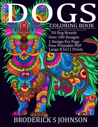 10 New Adult Coloring Books for Dog Lovers to Help Get Your Chill On