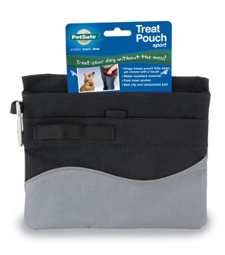 This slim treat pouch has a unique hinge opening for quick, easy access to  treats. Leave it open during a training session, and quickly snap it closed  for ... 23118fea7f